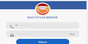 Bali Tugas Rebate Penghasil Uang Apakah Aman?