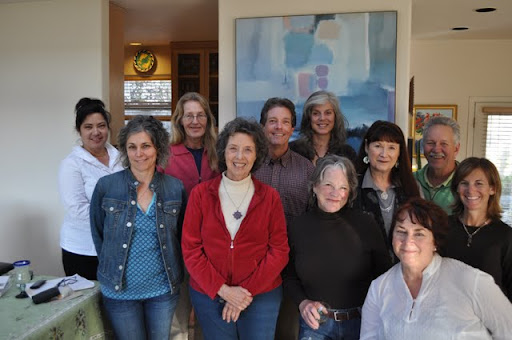 Staff and volunteers at Tara Home, a hospice in Soquel, California, USA, 2011. Photo by Rosanne Hebert.