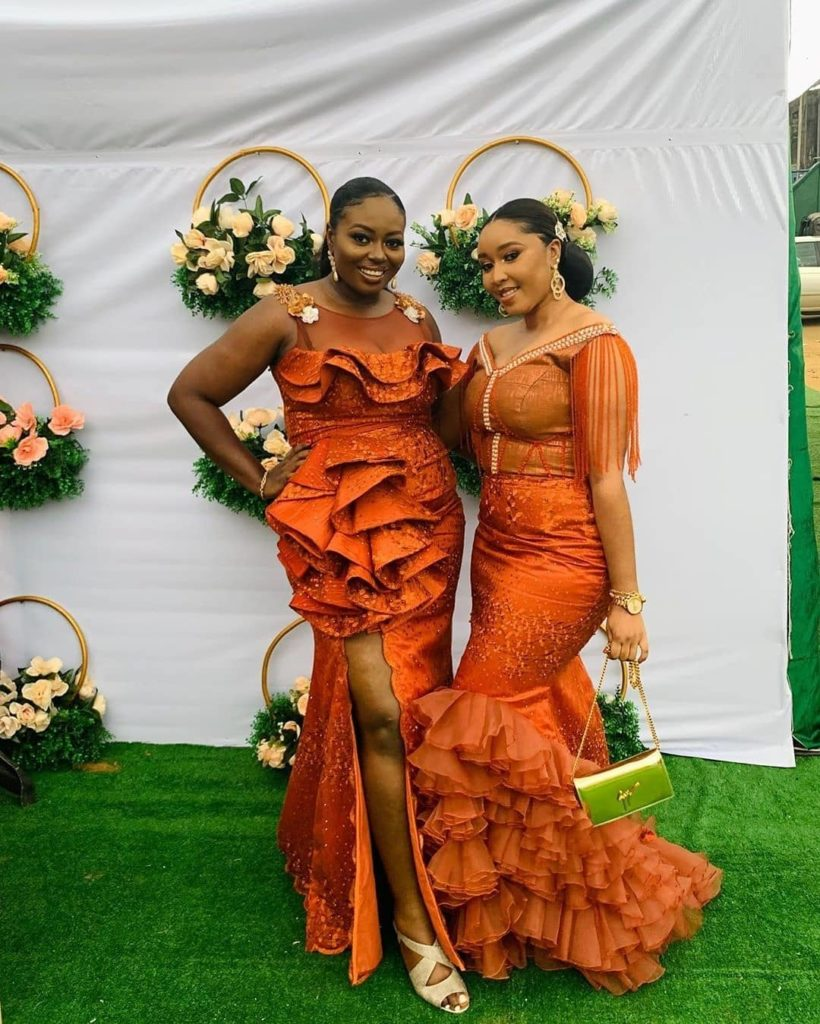 95 Edition Of #Ebfablook - 17 Trendy Aso Ebi Outfits And Styles For all time