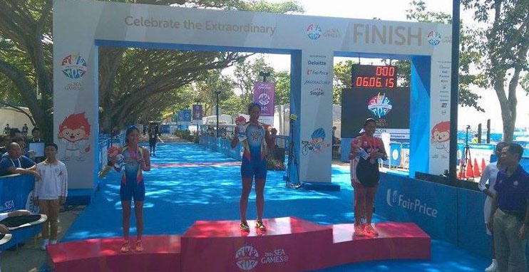 SEA Games 2015 – Women's Triathlon Results – with PICTURES