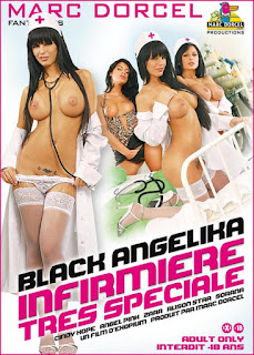 Black Angelica Infirmiere Tres speciale