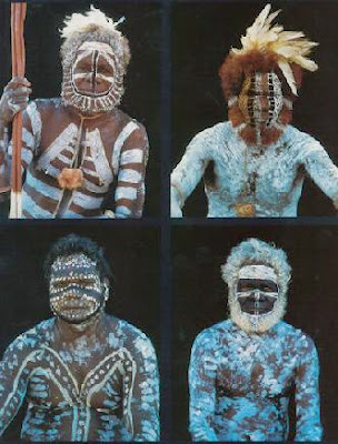 Australia   Aboriginals   The Body As Living Art