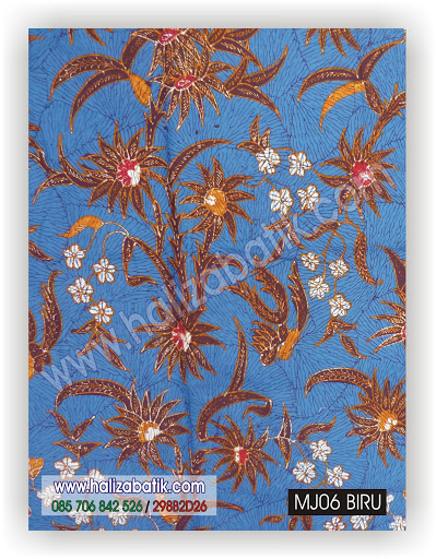 Motif Motif Batik, Contoh Desain Batik, Jual Batik, MJ06 BIRU