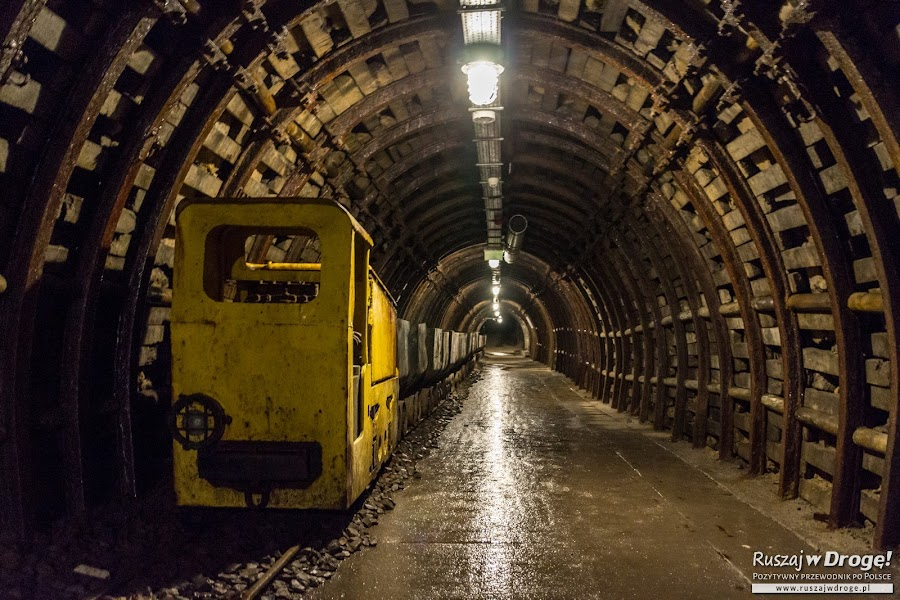 Stara Kopalnia w Wałbrzychu - trasa podziemna
