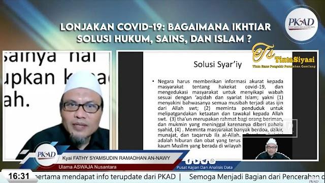 Ulama Aswaja Beberkan Hukum Syariat dalam Menangani Wabah