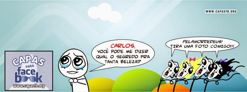 Capas para Facebook Carlos
