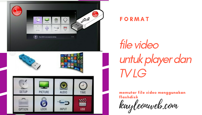 Memutar file video di TV LG