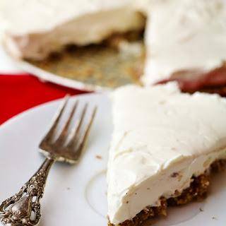 Healthy No Bake Cheesecake.