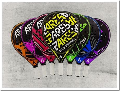La colección de Ares está formada por seis modelos y un séptimo especial para los clubes Vibor-A