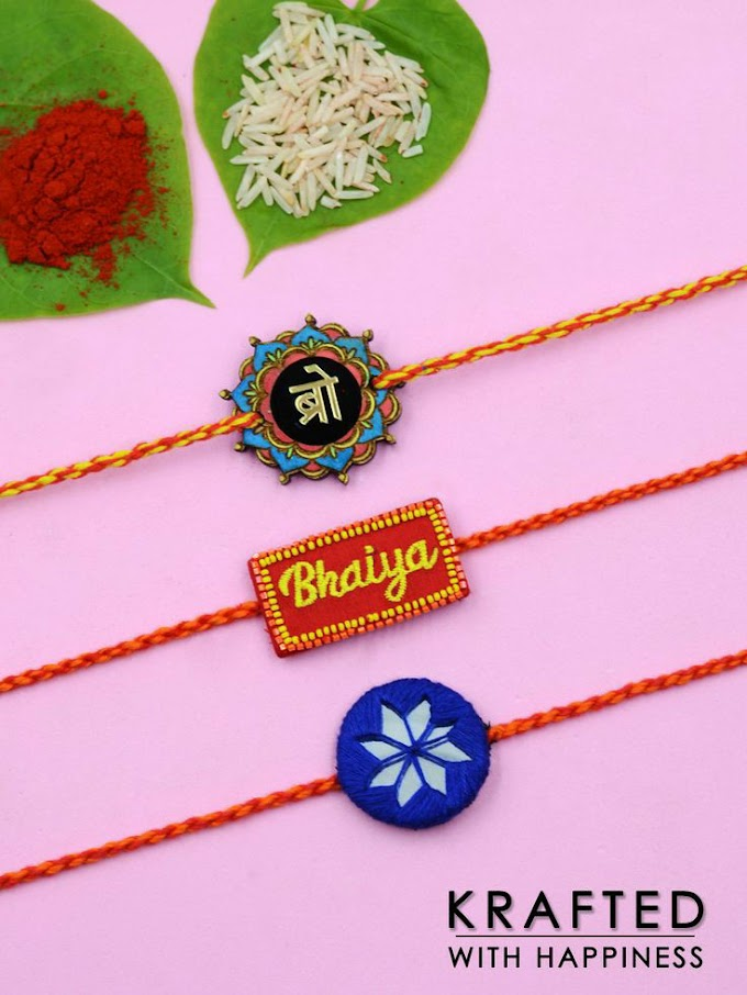 Rakshabandhan Bond the Beautiful Relationship With Krafted With Happiness Rakhi