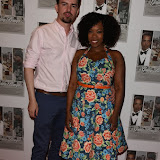 OIC - ENTSIMAGES.COM - Kevin J and Dominique Moore at the  Going Bongo - UK film premiere June 4th 2015 Photo Mobis Photos/OIC 0203 174 1069