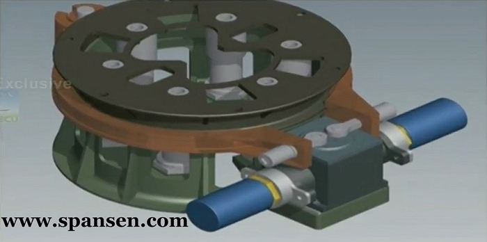 ISRO Wedge Lock system - IWL-150