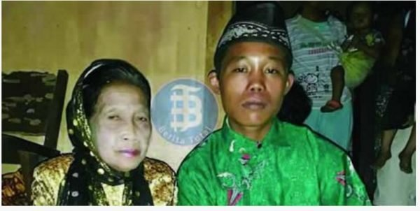 16 Year-old Boy Gets Married To 71 Year-old Woman (Photo)