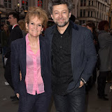 OIC - ENTSIMAGES.COM - Lorraine Ashbourne and Andy Serkis at the  Press night for The Comedy About A Bank Robbery in London April 21st 2016 Photo Mobis Photos/OIC 0203 174 1069