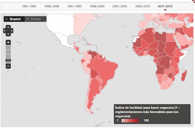 Banco Mundial ve que en Bolivia es complicado abrir un negocio