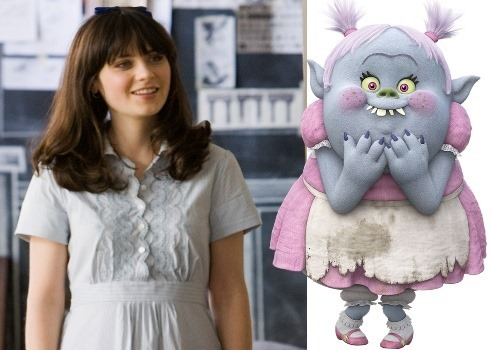 Zooey Deschanel as Bridget in TROLLS