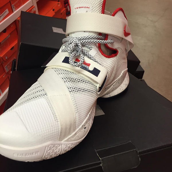 Arizona Wildcats Nike LeBron Soldier 9 Home amp Away PEs