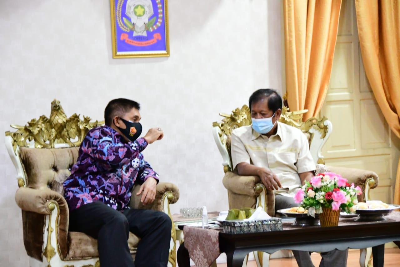 Kasdam XIV/Hasanuddin Lakukan Kuker di Kabupaten Soppeng