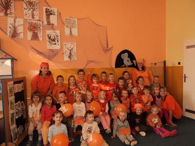 Oranžový den