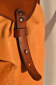 Кожаный рюкзак ручной работы № 151