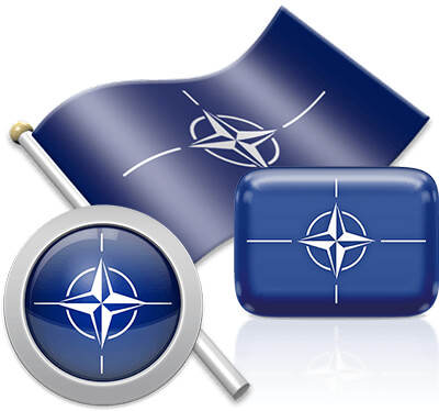 NATO flag icons pictures collection