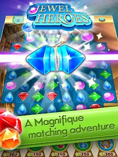 Jewel Heroes - Match Diamonds- screenshot thumbnail