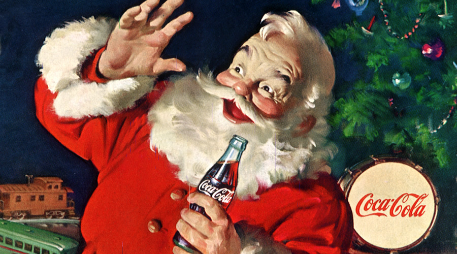 Papai Noel foi criado pela Coca-Cola