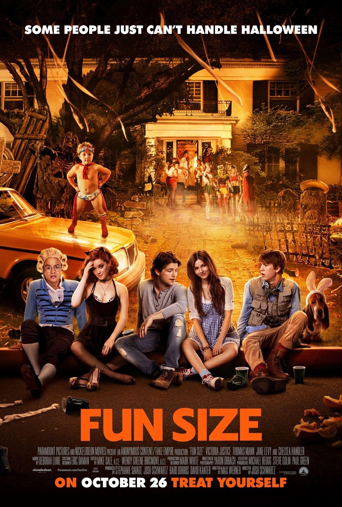 Phim Cậu Em Tinh Quái - Fun Size 2012