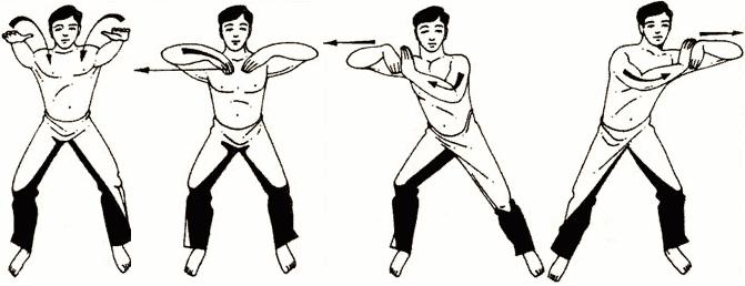 Упражнение № 1 – «Толкающие руки»