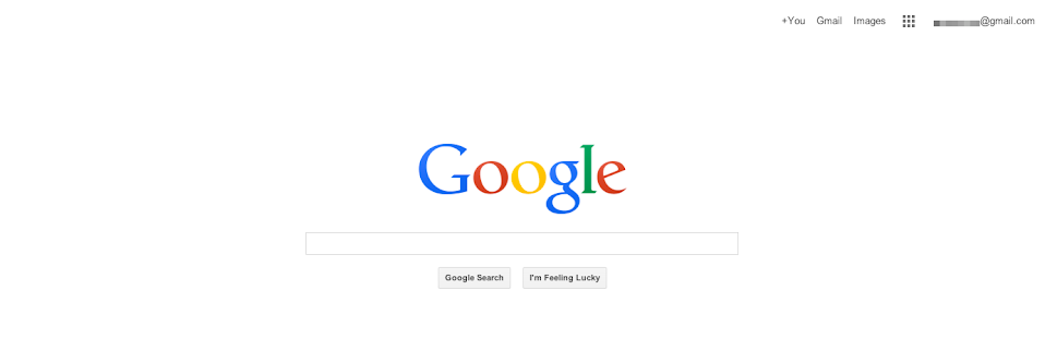 Googles neues Design