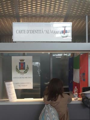Servizio rinnovo carte d'identità in aeroporto