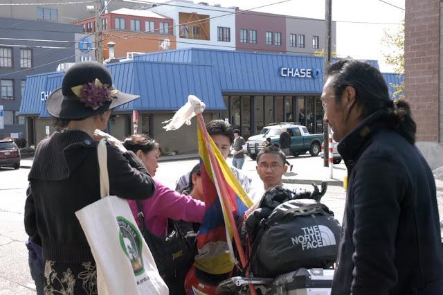 Free Tibet World Tour by Lhakpa Tsering in Seattle - DSC_0286.JPG