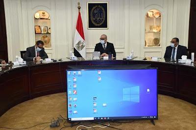"""الجزار يترأس الاجتماع الثانى للجنة متابعة تنفيذ المبادرة الرئاسية """"حياة كريمة"""" لتطوير القرى والتوابع"""