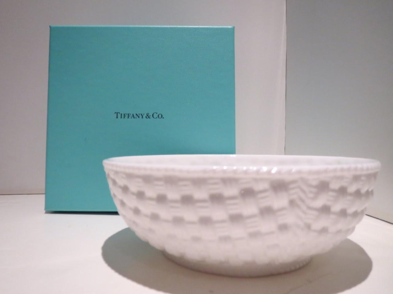 Tiffany & Co. 'Tiffany Weave' Bowl