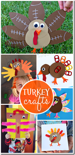 27 Amazing Turkey Crafts for Thanksgiving