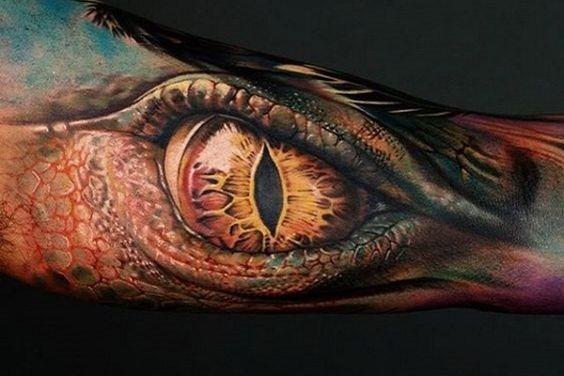 impressionante_drago_do_olho_braço_de_tatuagem