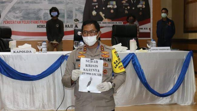 Polisi Disebut Lebay Tuduh Anarko Mau Menjarah, Sosiolog: Ada Datanya Gak?
