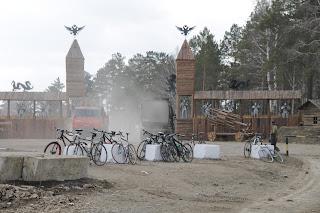 Велосипеды на помойке