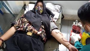Ningsih Dewi Marini: Walaupun Berada di Masa Pandemi, Tak Halangi Niat Ikuti Aksi Sosial Donor Darah