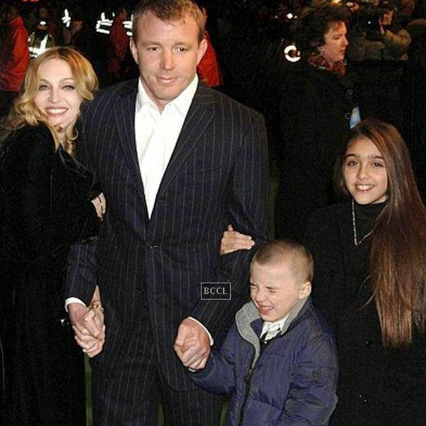 English filmmaker Guy Ritchie married American pop singer Madonna and they have a son Rocco and an adopted Malawian boy David. Later it was announced by Madonna's spokeswoman that the singer had agreed to a divorce settlement with Ritchie.