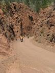 Jordan and Tim coming through the canyon