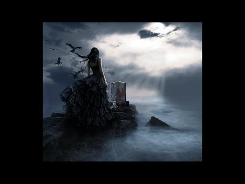 Girl On A Tomb, Gothic Girls