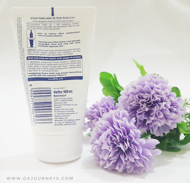 [Review] Nivea Makeup Clear White 2in1 Scrub