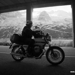 Motorradtour Dolomiten Passo Fedaia Marmolada 08.09.16