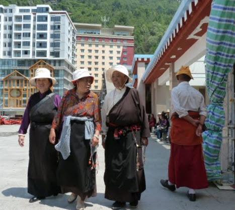 CHINE SICHUAN.KANDING , MO XI, et retour à KANDING fête du PCC - 1sichuan%2B1951.JPG