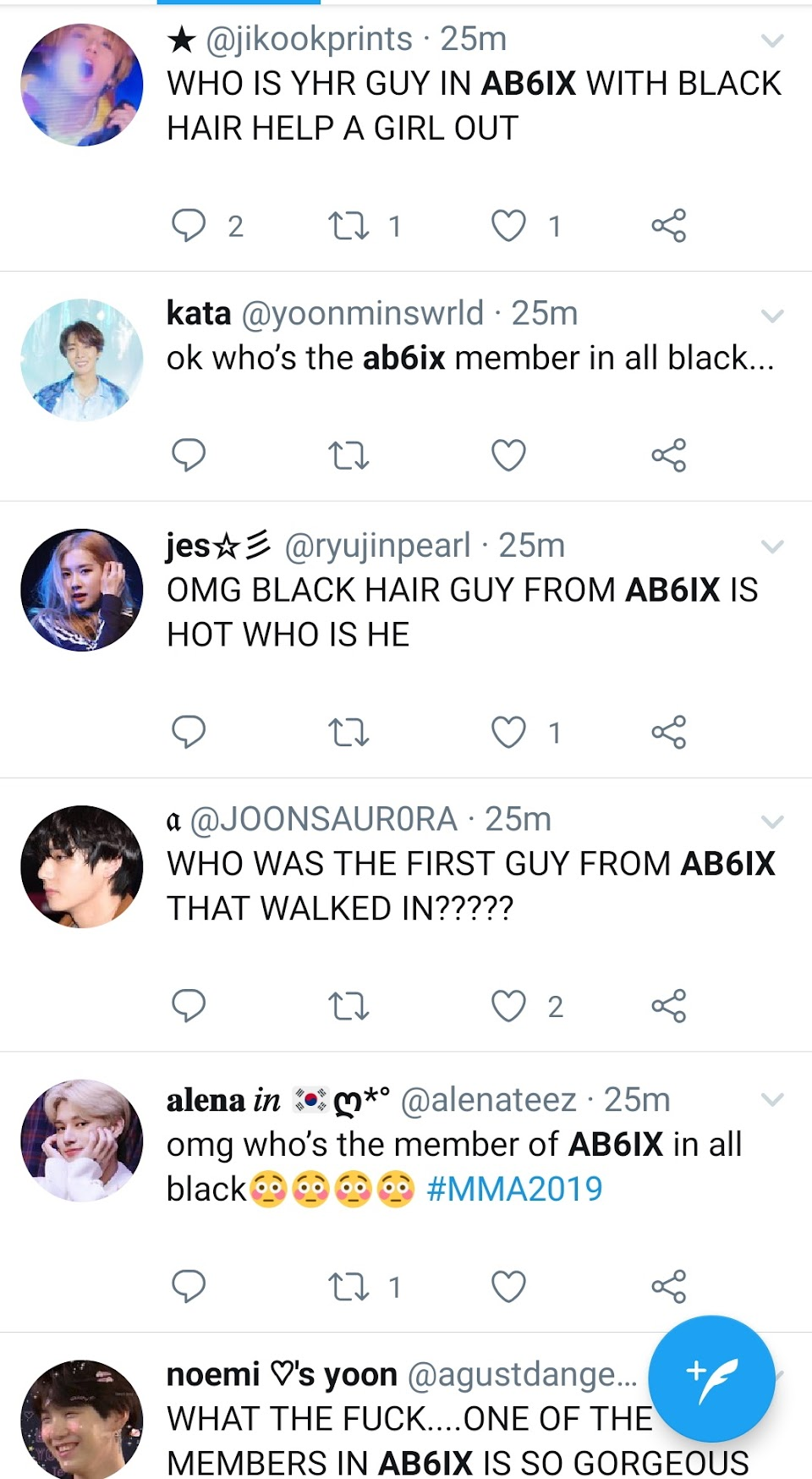 ab6ix kim donghyun twitter1