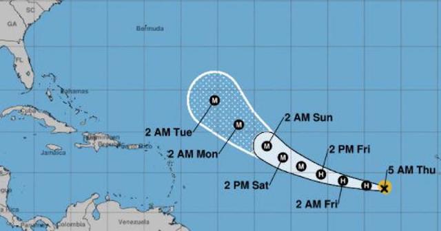 El tiempo: Alerta por Larry puede ser un Huracán muy fuerte