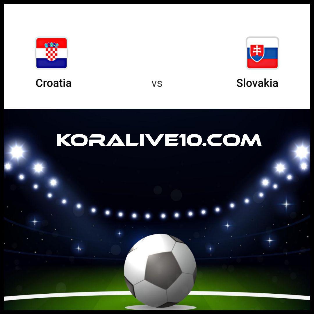 موعد مباراة كرواتيا وسلوفاكيا في التصفيات المؤهلة ليورو 2020   كورة لايف