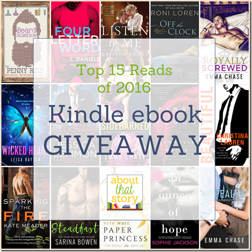 Top 15 Reads of 2017 Kindle ebook Giveaway | About That Story