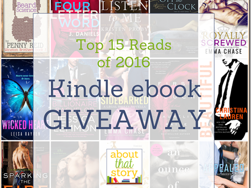 Top 15 Reads of 2016 Kindle ebook GIVEAWAY